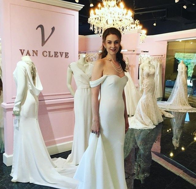 van cleve brides and evening wear With van cleve wedding dresses