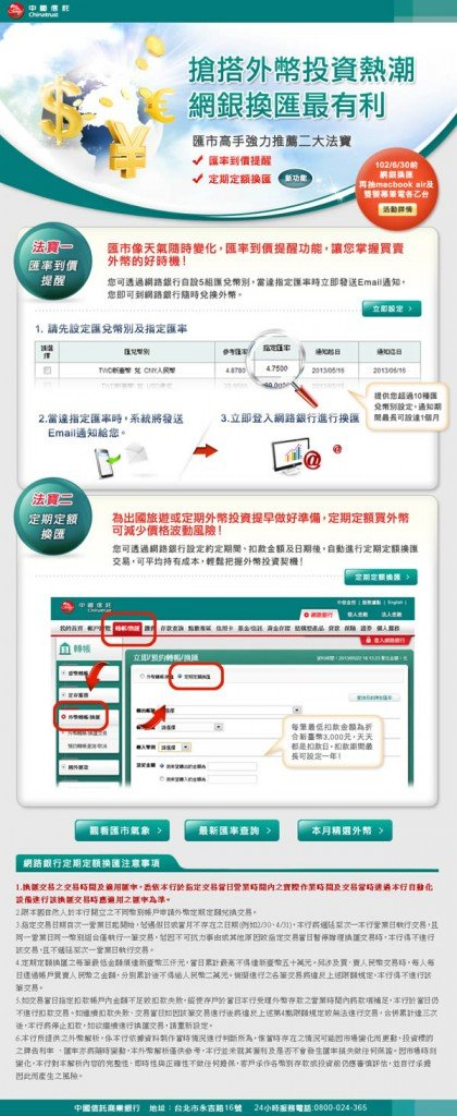中國信託-外幣投資