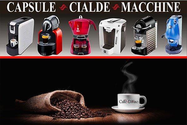 delle macchine di caffè a vari modelli
