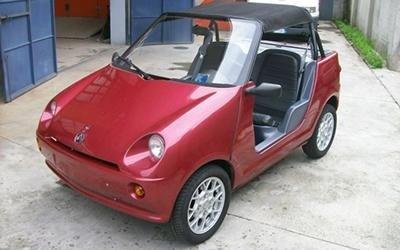 AIXAM Cabrio rossa