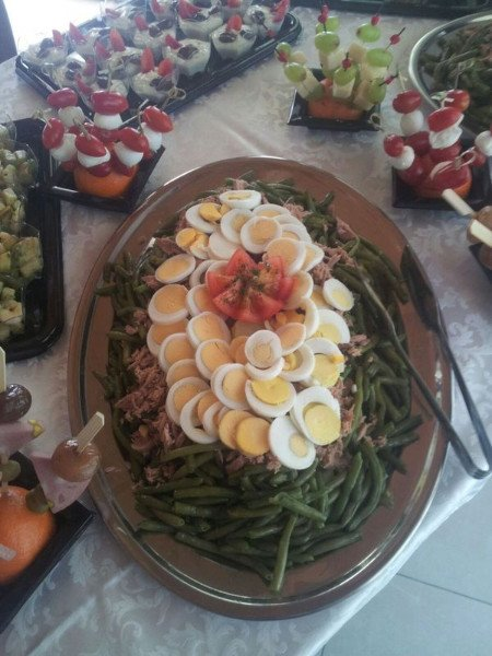 Piatto preparato per il catering GASTRONOMIA ROSTICCERIA FIERA Treviso