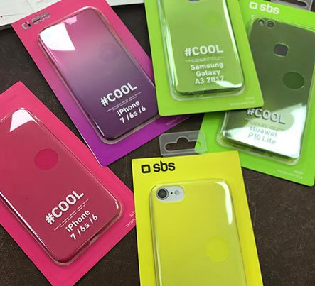 delle cover colorate per iPhone 7 6 e 6S