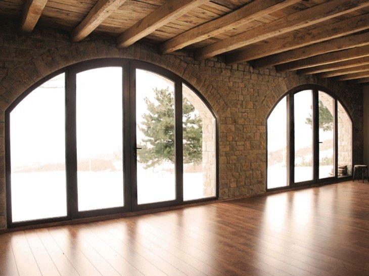 Serramenti e finestre in pvc amantea cs metal system - Finestre ad arco ...