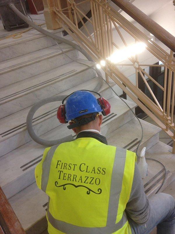 staircase polishing