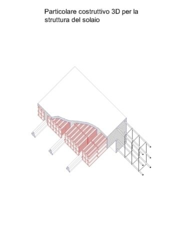 Struttura solaio 3D