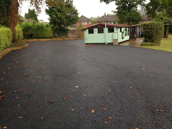 Princes Risborough Lawn Tennis Club Car Park Resurfacing
