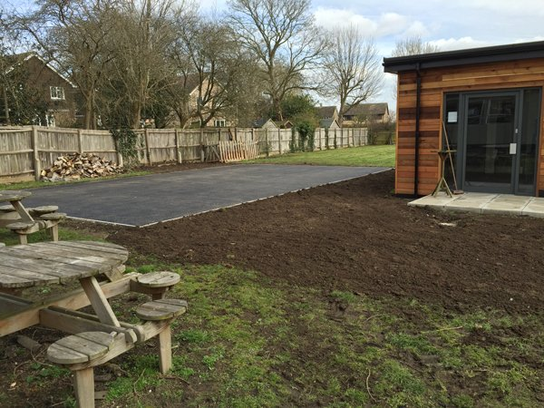 All Weather Play Area, Marsh Gibbon School