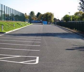 Disraeli School High Wycombe, Creation of Car Park