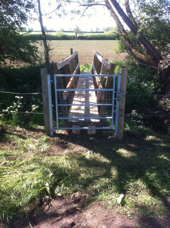 Rights of Way Footbridge Swanbourne