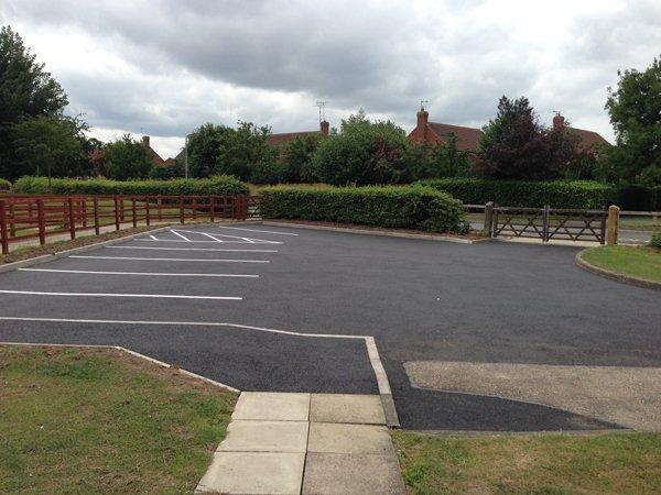 Car Park at Turnfurlong School, Aylesbury