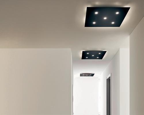 Plafoniere da soffitto nere