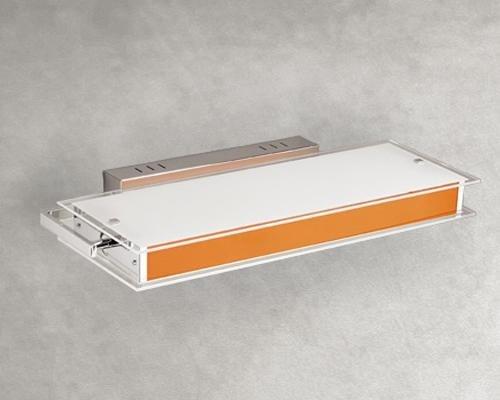 Plafoniera con inserti colorati 6864