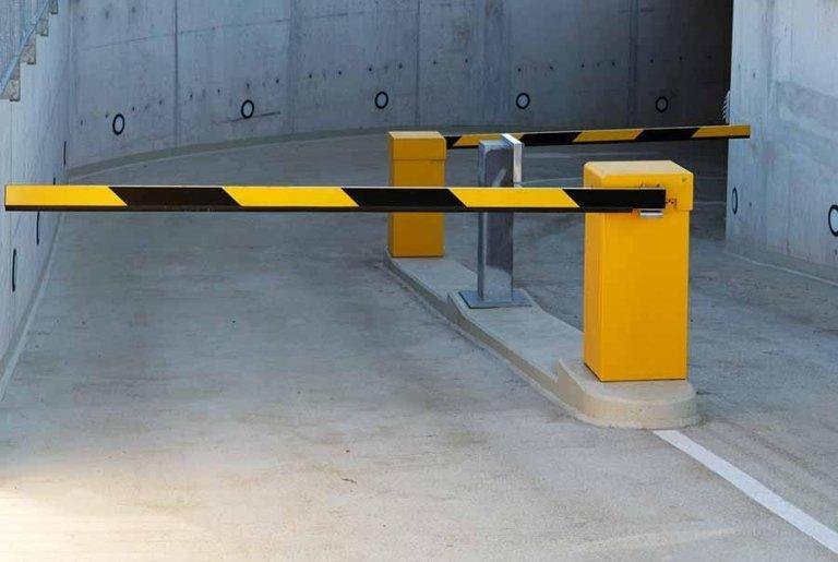 Barriera parcheggio sotterraneo