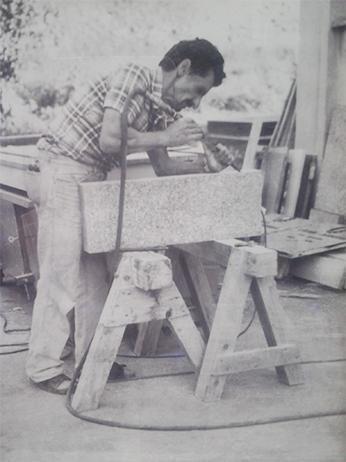 Lavorazione granito