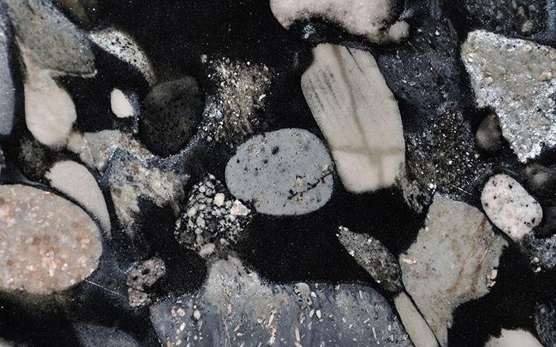 Black Mosaic Marinace Nero