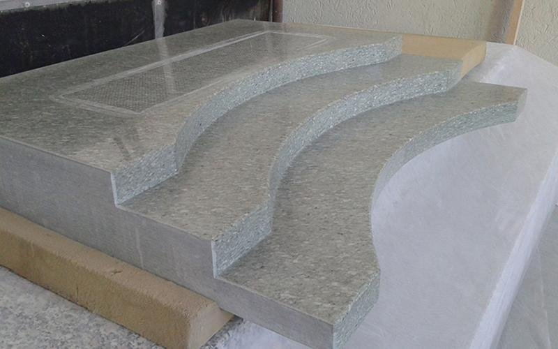 Sagomatura marmo