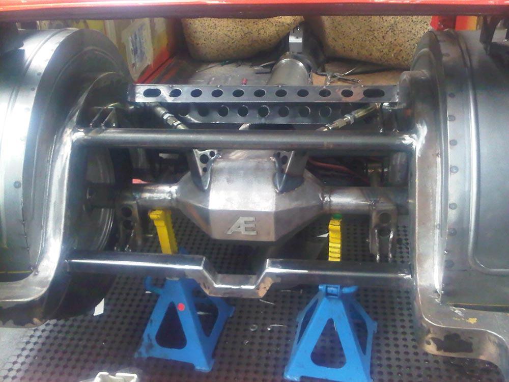 aikman engineering car rear axle fabricated