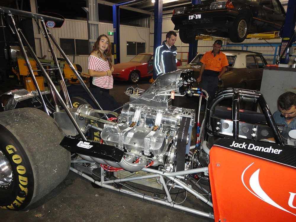 aikman engineering dragster hi performance engine