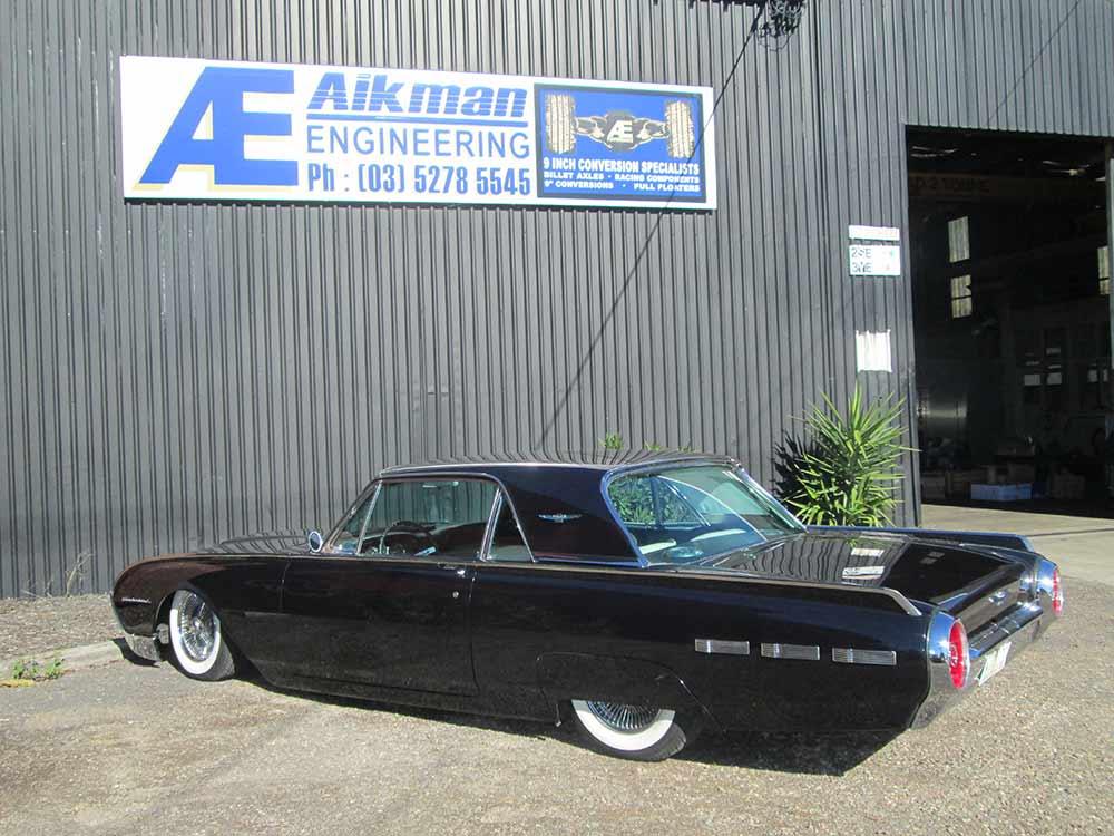 aikman engineering glossy black classic car