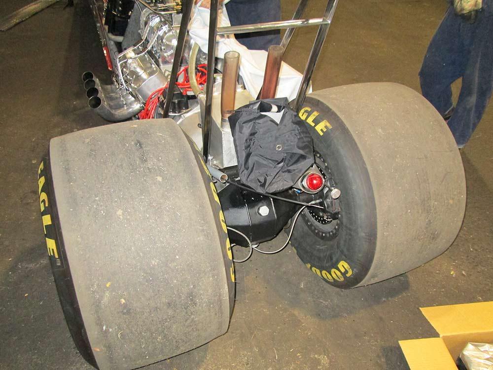 aikman engineering race car rear axle