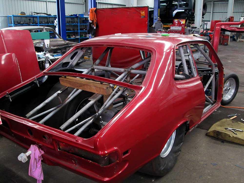 aikman engineering racing car body reinforced
