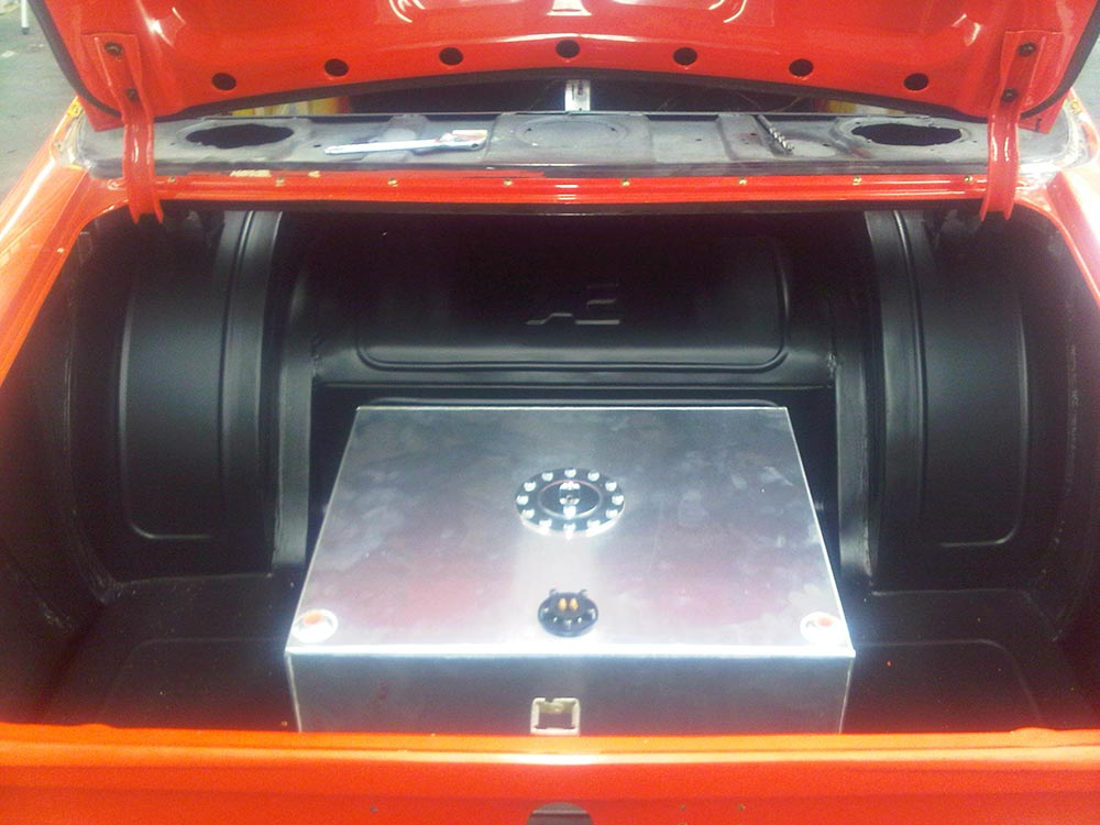 aikman engineering rear compartment of a car