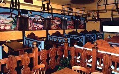transenne in legno divisorie tavoli osteria