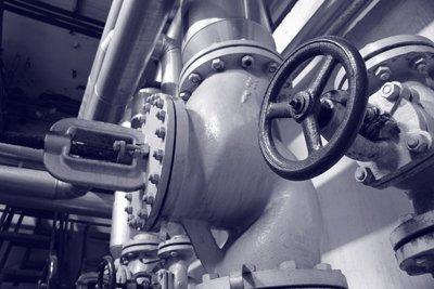 Impianto idraulico di una fabbrica