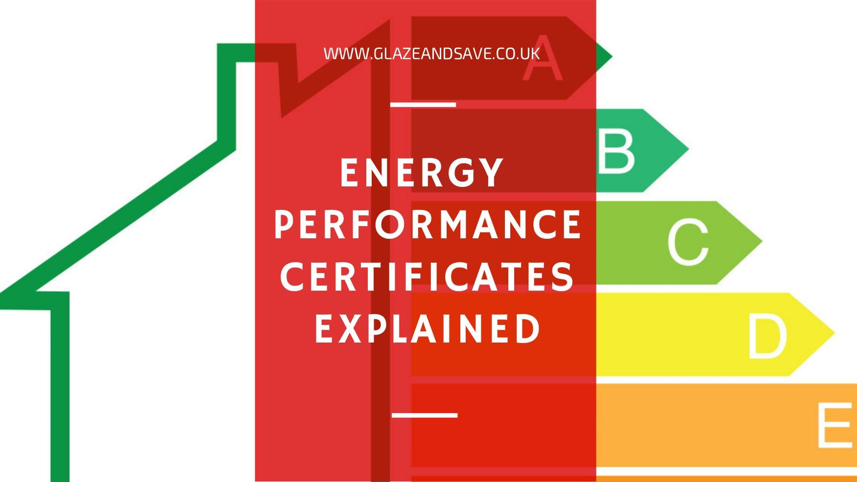 Energy Performance Certificates EPC explained by Glaze and Save magnetic secondary glazing and draughtproofing specialists based in perth scotland.