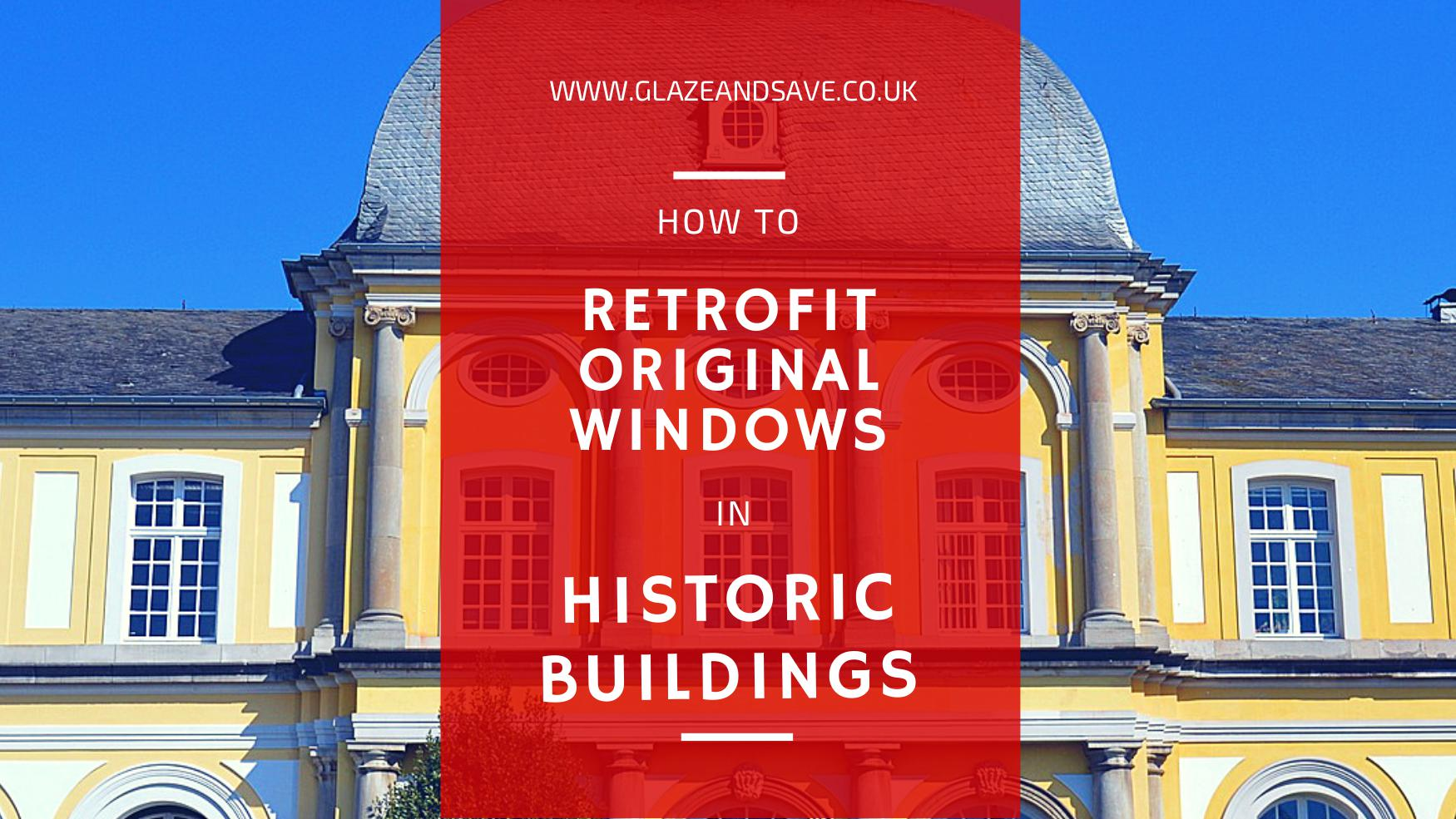 How to retrofit original windows in historic buildings by Glaze & Save bespoke magnetic secondary glazing and draughtproofing in Scotland www.glazeandsave.co.uk