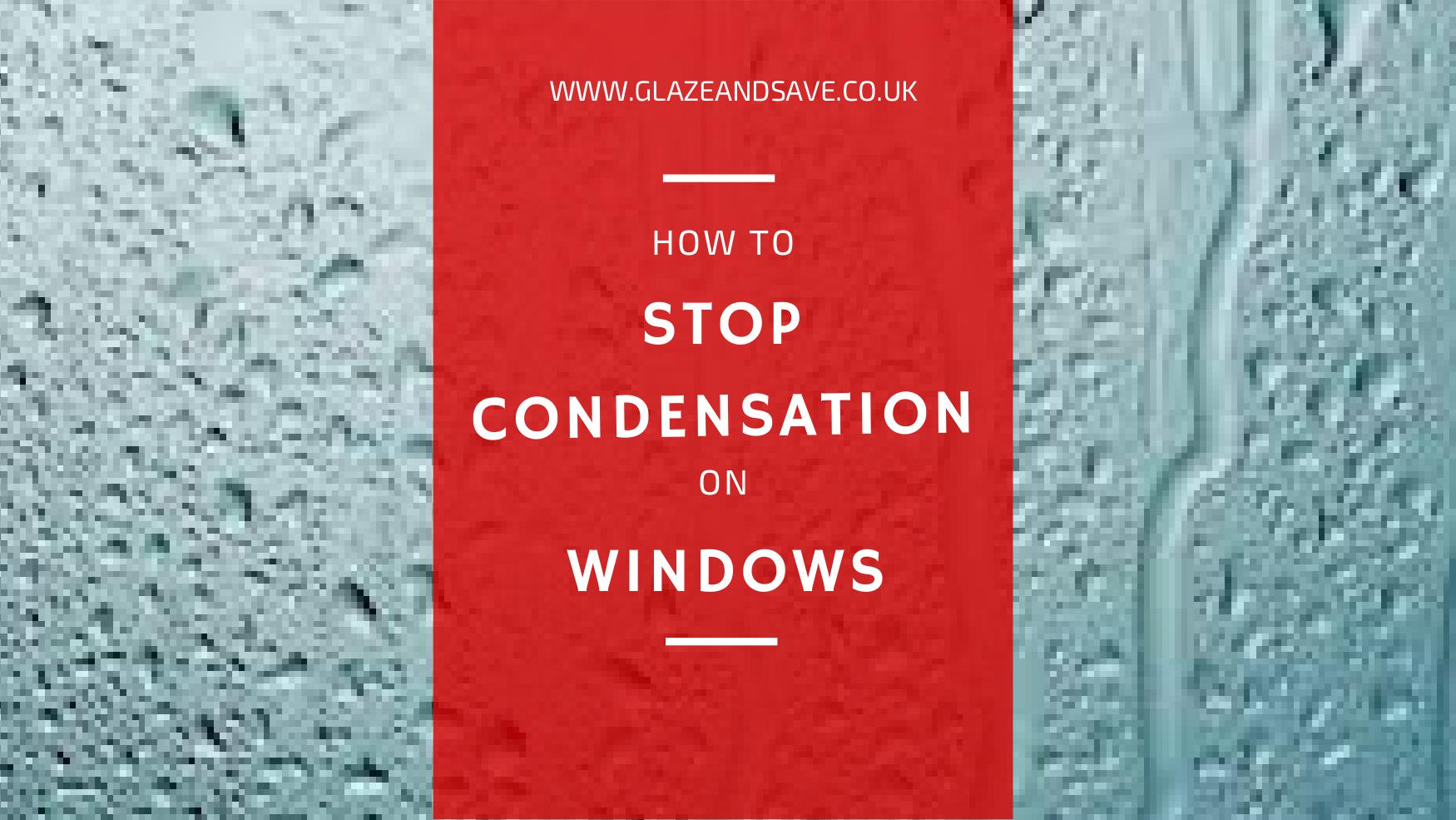 How to stop condensation on windows by Glaze & Save bespoke magnetic secondary glazing in Perth, UK. We eradicate condensation from your windows.