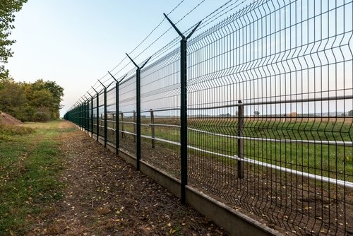 security fencing installed