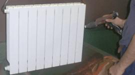 verniciatura termosifone, vernice bianca, verniciature di qualità