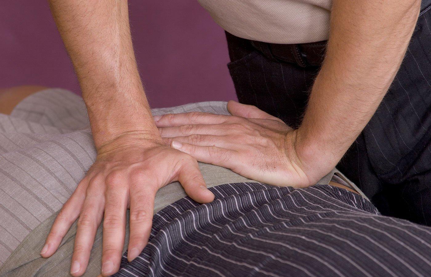 Chiropractic adjustment