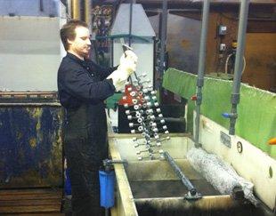 Anodising - Huntingdon, Cambridgeshire - M.F.S Electroplating Co - anodising