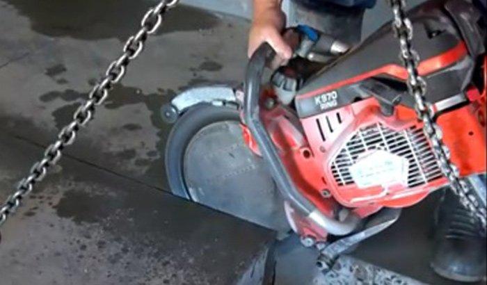 a 1 concrete services concrete sawing