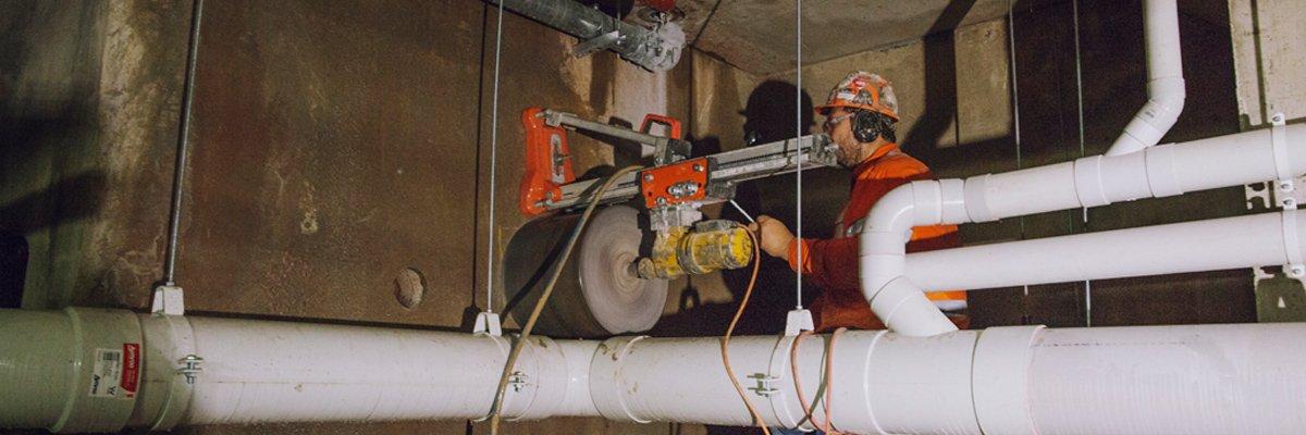 a 1 concrete services core drilling services