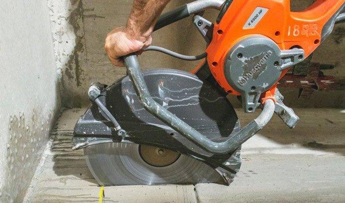 a 1 concrete services concrete cutting