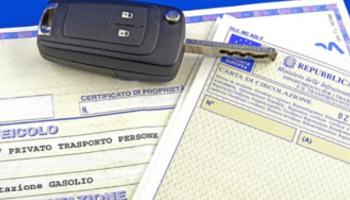 carta circolazione, auto, chiave, documento