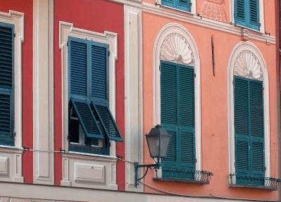 facciata decorata genovese