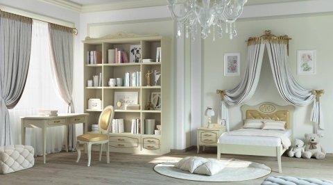 cameretta libreria