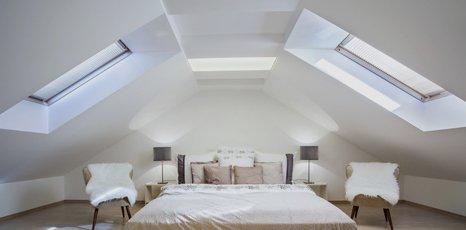 attic after conversion