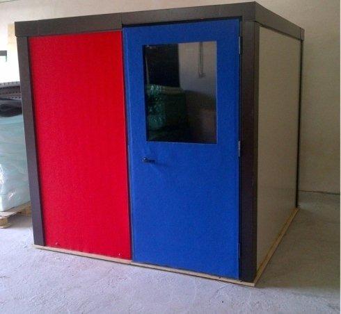Box insonorizzato costruzione artigianale, napoli, campania