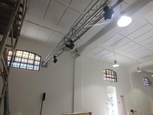 Lavoro correzione acustica aule didattiche, Napoli