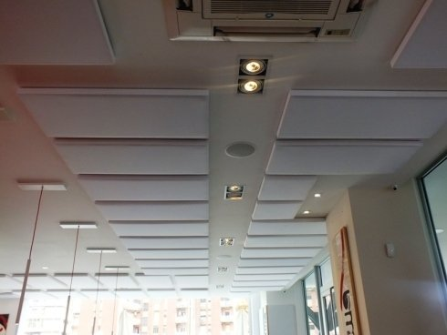 Pannelli fonoassorbenti per correzione acustica, napoli, campania