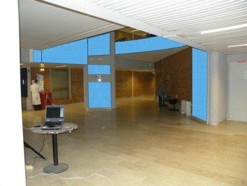 isolamento acustico open space, napoli, campania