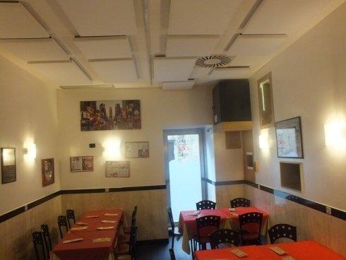 Pizzeria Starita di Napoli con acustica ambientale bonificata