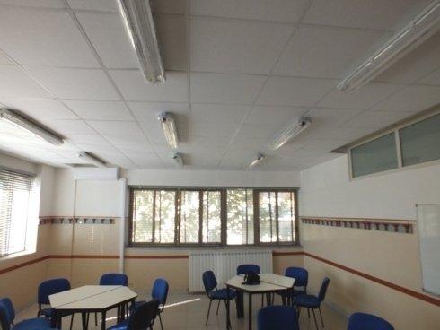 Insonorizzazione, impianto per aula didattica, Napoli, Campania