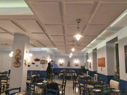 Insonorizzazione ristorante, Napoli