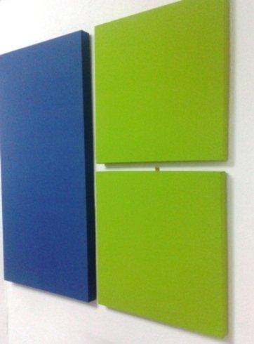 Pannelli per correzione acustica colorati, napoli